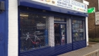 Tube and Link Roller Shutter Shop Front