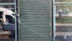 Solid Steel Roller Shutter Doorway