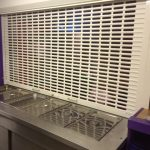 Perforated Punched and Glased Roller Shutter
