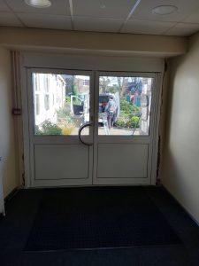 Aluminium Double Doors Southgate inside