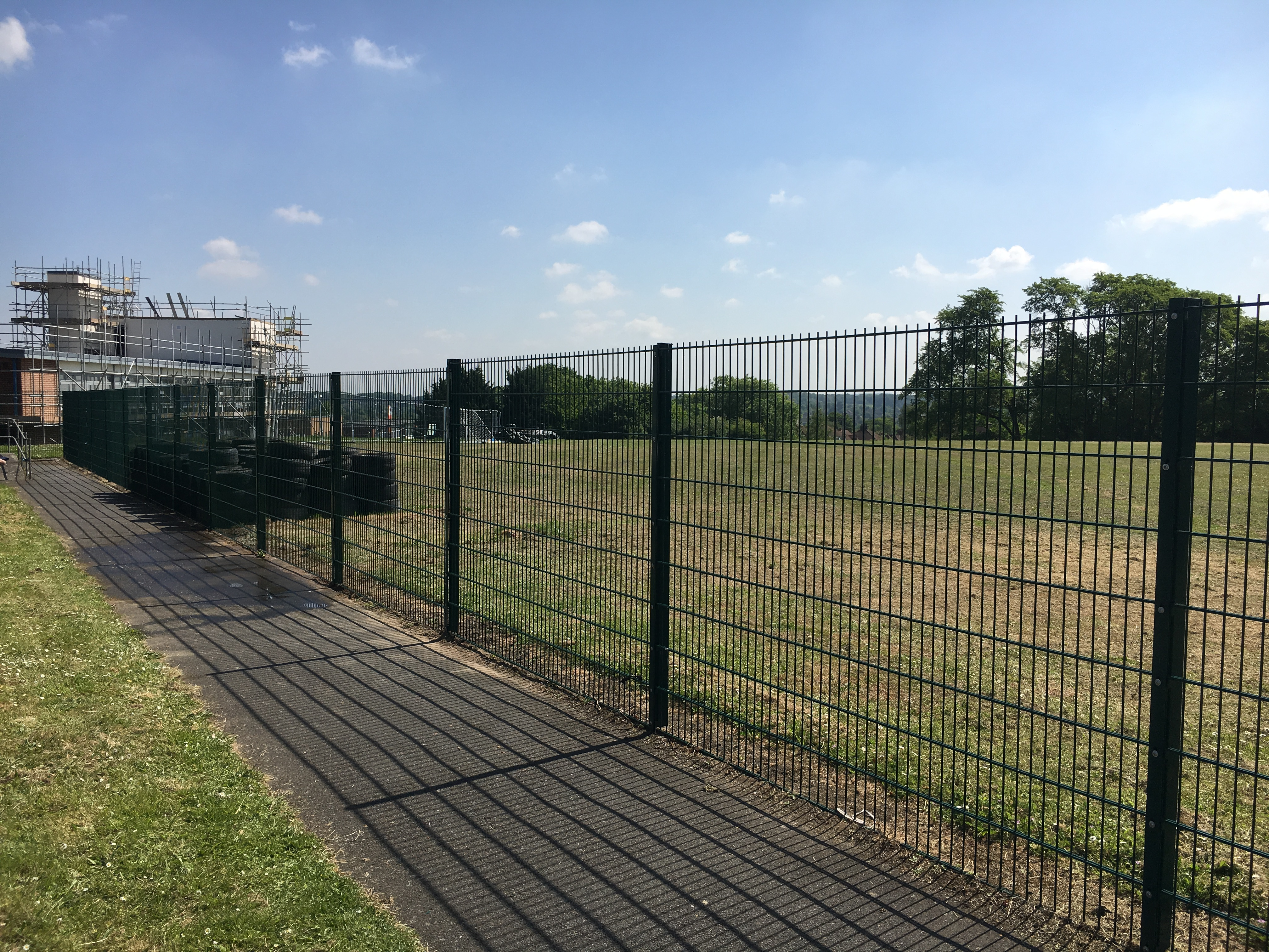 Repair To Perimeter Fencing Shaw Security