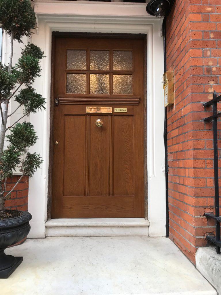 Bespoke Hand Made Oak Door