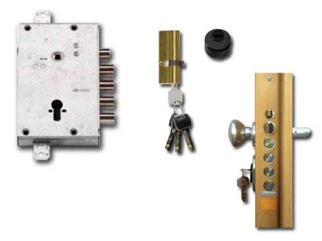 Security Door Locking System