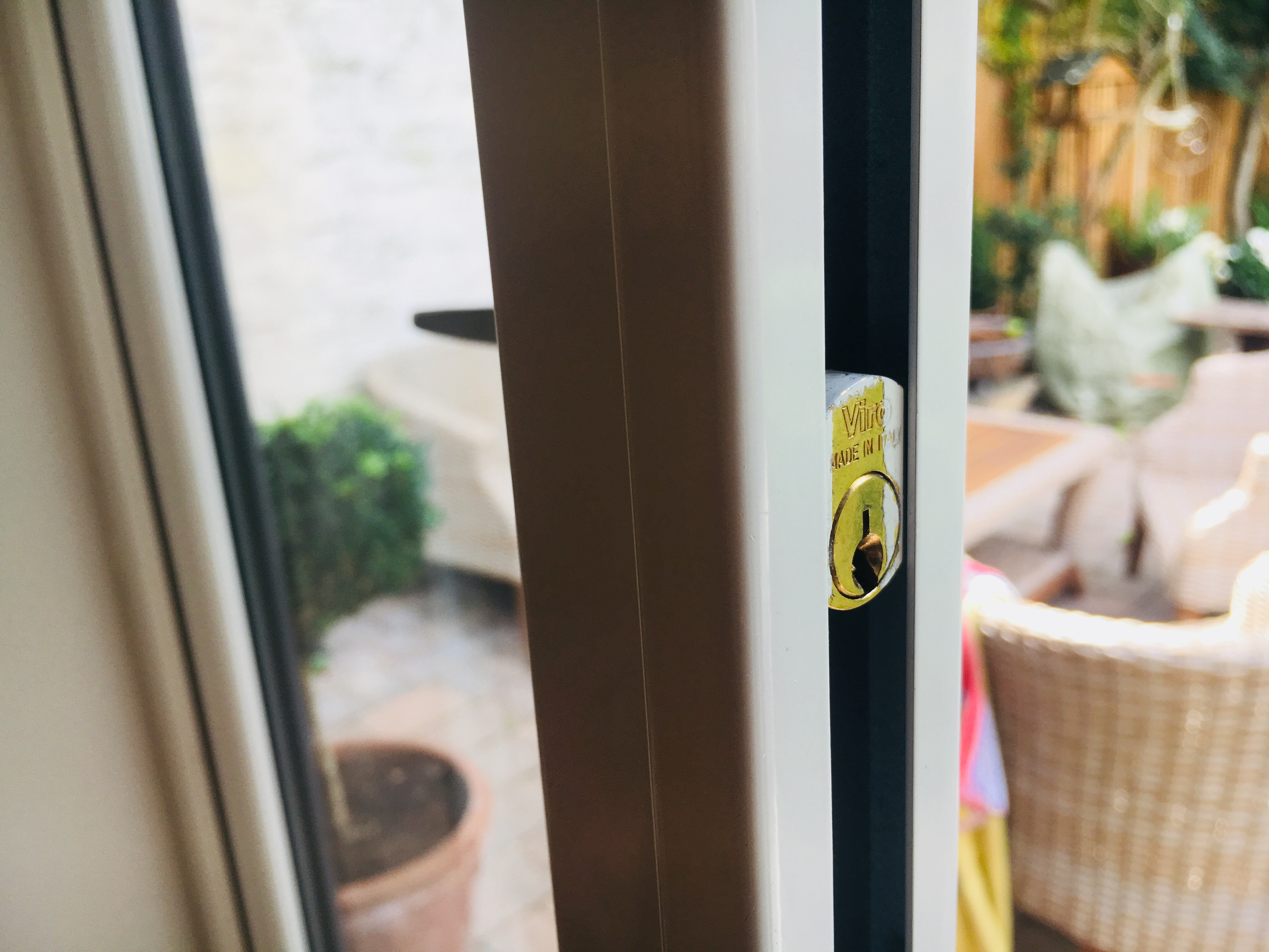 Collapsible Gates Cylinder Lock