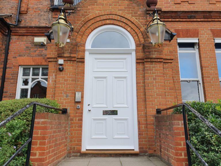 Bespoke Hardwood Front Door