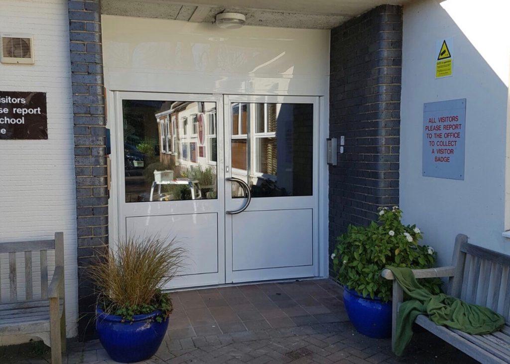 Aluminium Double Doors Southgate