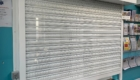 Perforated Steel Roller Shutter Powder Coated White