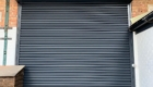 Roller Shutter Powder Coated Black