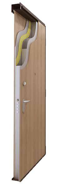 Ballistic Security Door